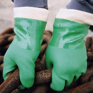 SHOWA GLOVE 600 PVC  (XL)
