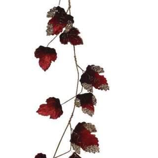pes velvet leaf garland120cm