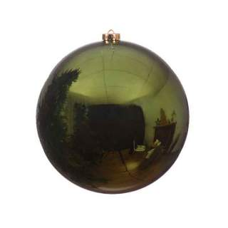 sh.proof plain bauble shiny dia14cm pine Green