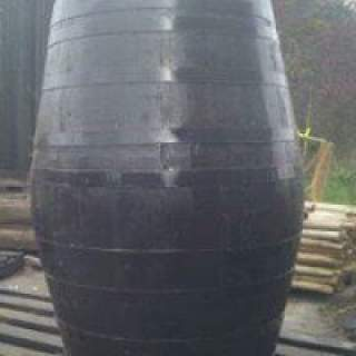 Dark Oak 40 Gallon Barrel