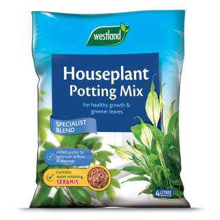 Houseplant Potting Mix (Enriched with Seramis) 4L