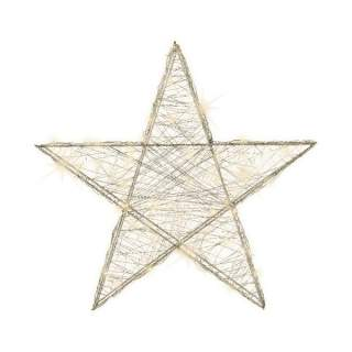 micro LED wire star indoor bo warm white