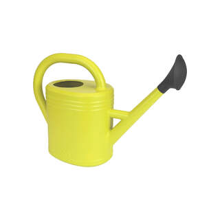 green basics watering can 10ltr lime green