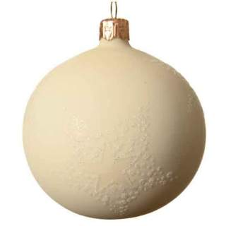 sh.proof plain bauble shinydia14cm light gold