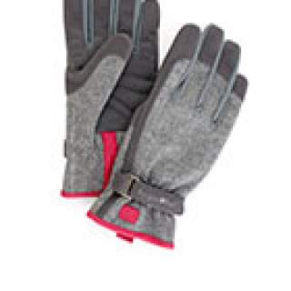 Love the Glove Grey Tweed M/L