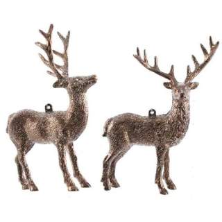 plastic deer with hanger 2ass truffle