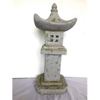 PAGODA TALL ORNAMENT D34H80CM