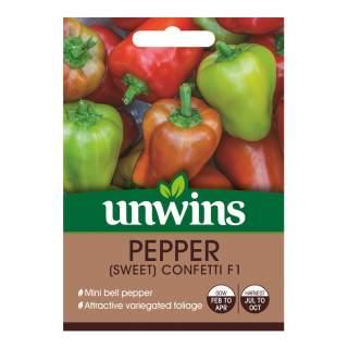 Pepper (Sweet) Confetti Hybrid