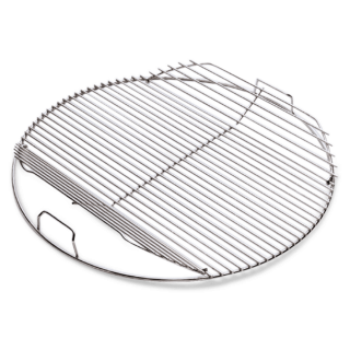 Cooking Grate fits 57cm charcoal grills, hinged