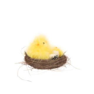 Fluffy Chick Nest - 11cm