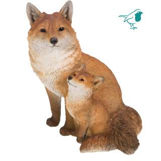 RL Fox Cub with Mother A