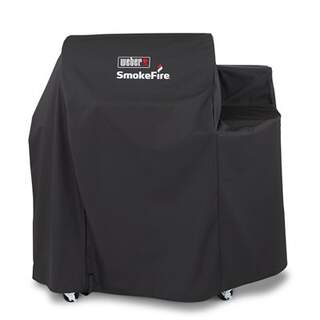 Grill Cover Smoke Fire 24 In