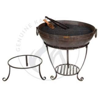 60cm Recycled Kadai set with high & low