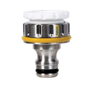 Hozelock 3/4in BSP Pro Metal Thread Tap Connector