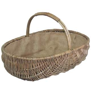 Shallow Antique Wash Trug Large