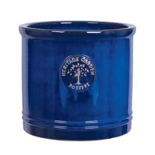 25CM BLUE HERITAGE CYLINDER