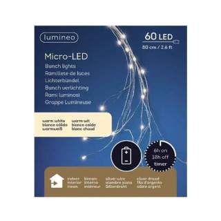 micro LED bunch l ind bo silver/warm white