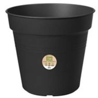 green basics growpot 27cm living black