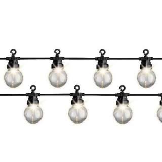 LED clear globe tw st. out GB  950cm-20L black/warm white