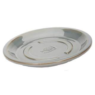 RHS Antique Grey Saucer 22cm