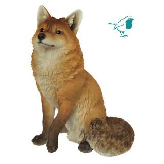 Real Life Sitting Fox A