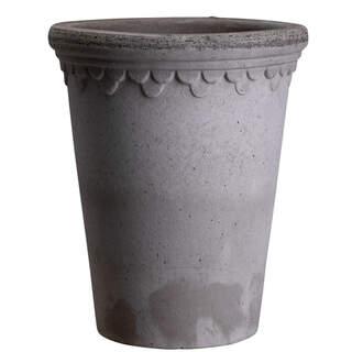 Copenhagener Grey, 14 cm, Rose Pot