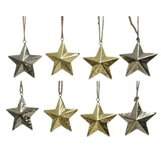 iron star hanger 4ass 2col ass assorted