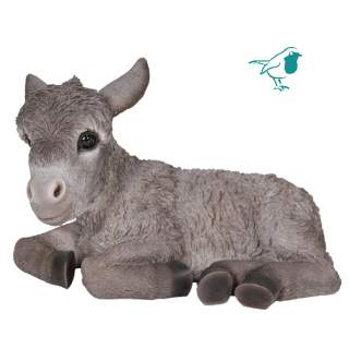 RL Laying Baby Donkey Grey D