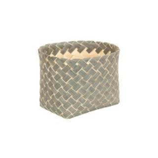 Grey poplar  Storage Basket Small