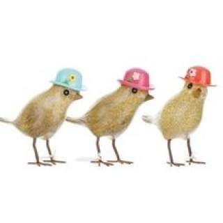 Garden Birds Floral Hats