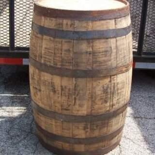 Raw Oak 40 Gallon Barrel