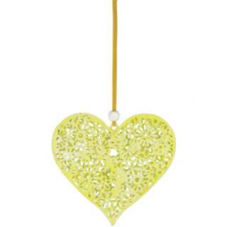Filigree Heart Hanger 9cm
