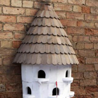 BirdHouses Large Half Round
