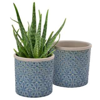 Glazed Pot  Porto Small Dark Blue