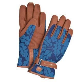 Oak Leaf  Gloves Navy  M/L