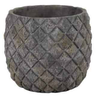 Manav Pine Cone Pot Green D14H12.5