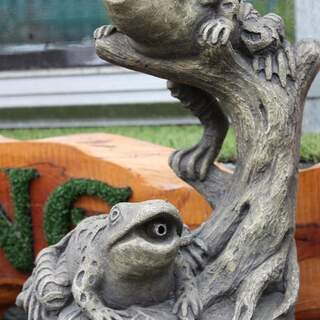 Garden Frogs - Plumbed