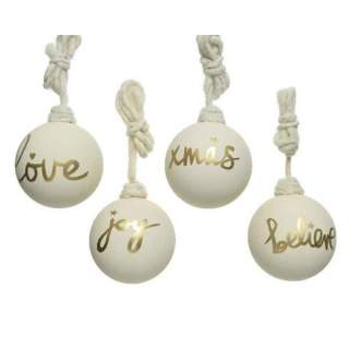 gl bauble w gold text