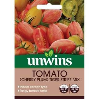 Tomato (Cherry Plum) Tiger Stripe Mix