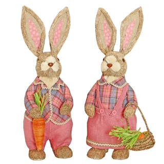 CARROT PATCH LARGE STADING BUNNY