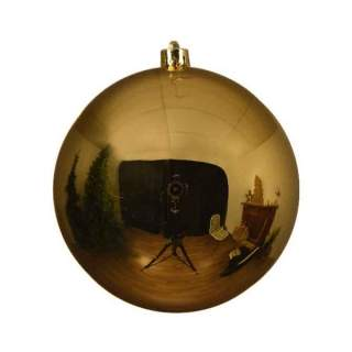 sh.proof plain bauble shiny dia25cm Light Gold