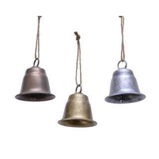 iron bell w hanger 3col ass assorted
