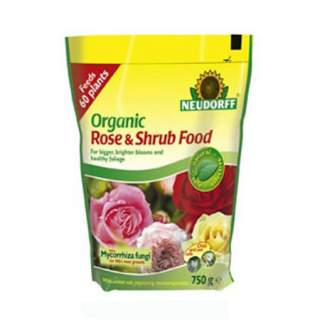 Organic rose and shrub 1.25kg