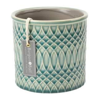 Glazed Pot Moroccan Celadon