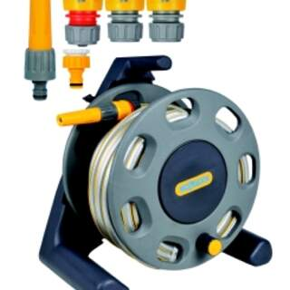 Hozelock 2412 Compact Reel 25m Hose and Fittings