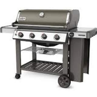 Genesis II E-410 GBS Gas Grill Smoke Grey