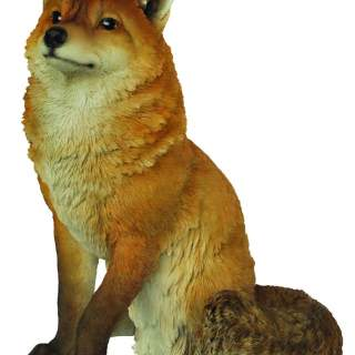 Real Life Sitting Fox A x 1