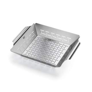 DELUXE GRILLING BASKET - STAINLESS STEEL, SQUARE