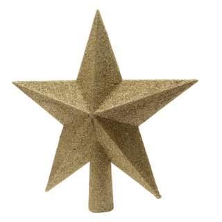 sh.proof tree top star glitter4.2x19x19cm light gold