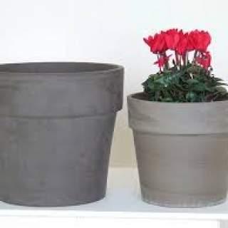 Calima Pot Basalt 38x33cm